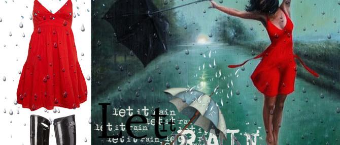 Haine minunate adunate din ploaie