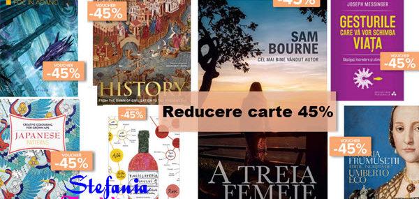 Reducere la carti jucarii prosoape si parfumuri